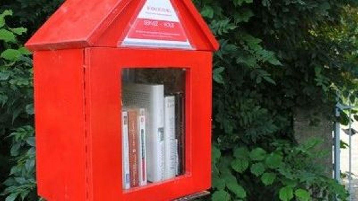 Boîte à livres Verviers