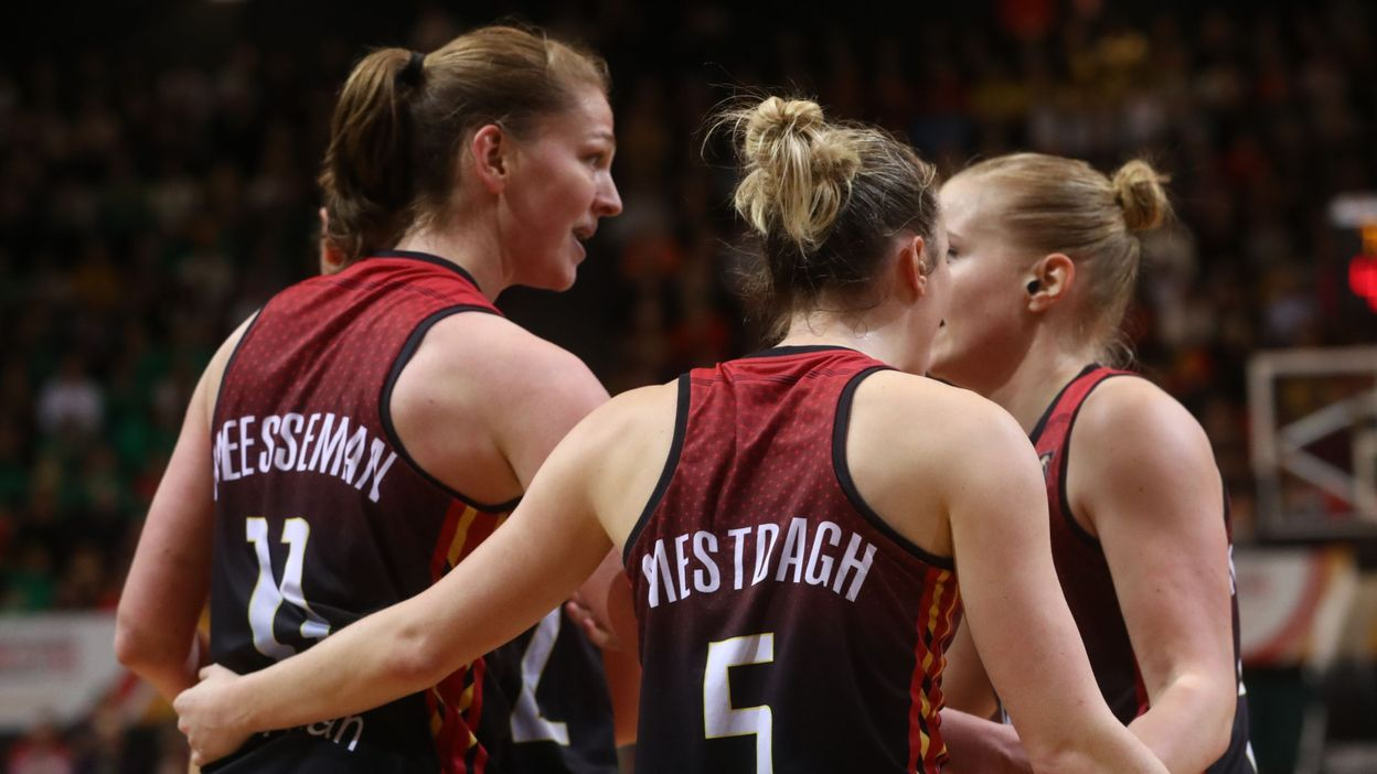 Sport Basket : les Belgian Cats étrillent la Finlande et restent invaincues - RTBF