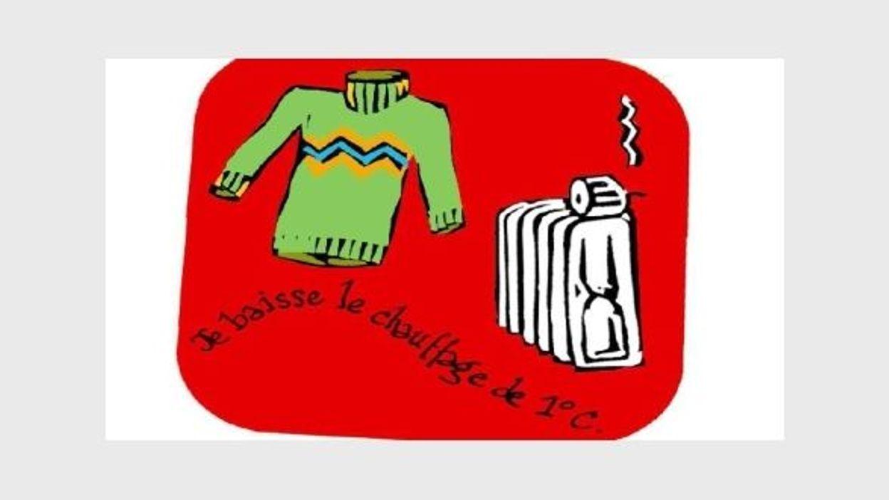 Baissez Pull Chauffage La Pour Journée Le Gros LcqAj354R