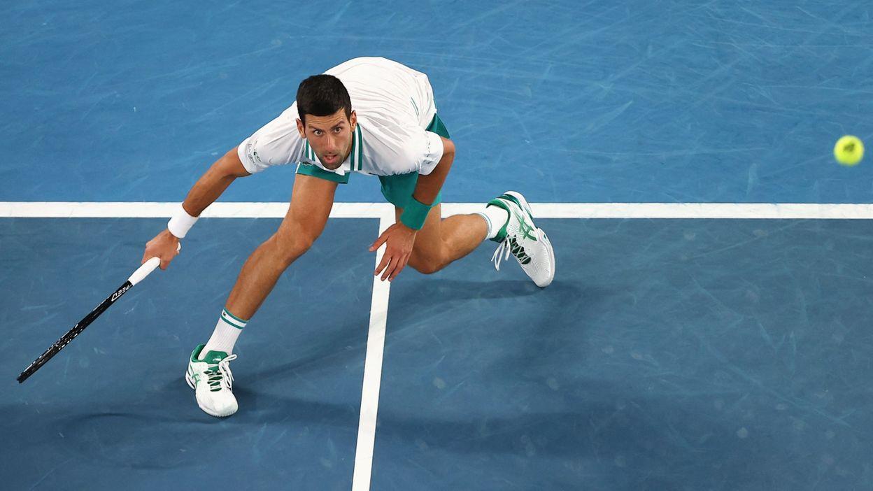 Novak Djokovic élimine la sensation Aslan Karatsev et s'offre une neuvième finale à Melbourne - RTBF