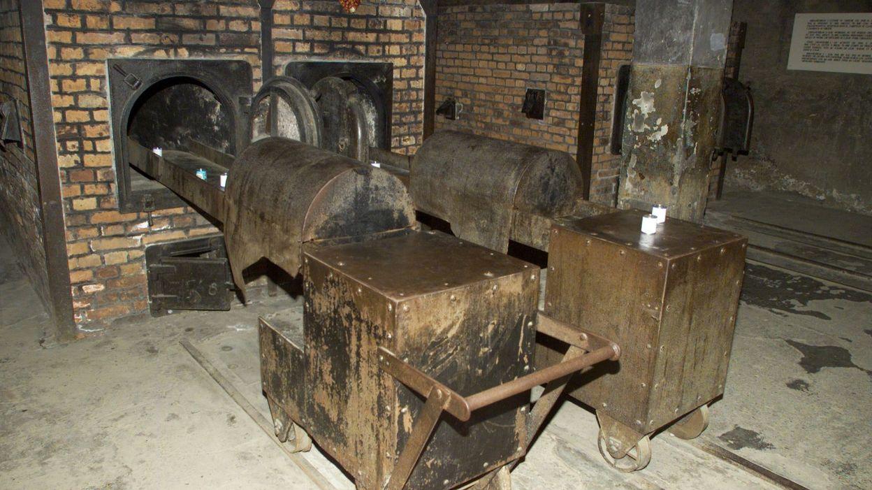 Auschwitz un d put am ricain critiqu pour une vid o for Auschwitz chambre a gaz