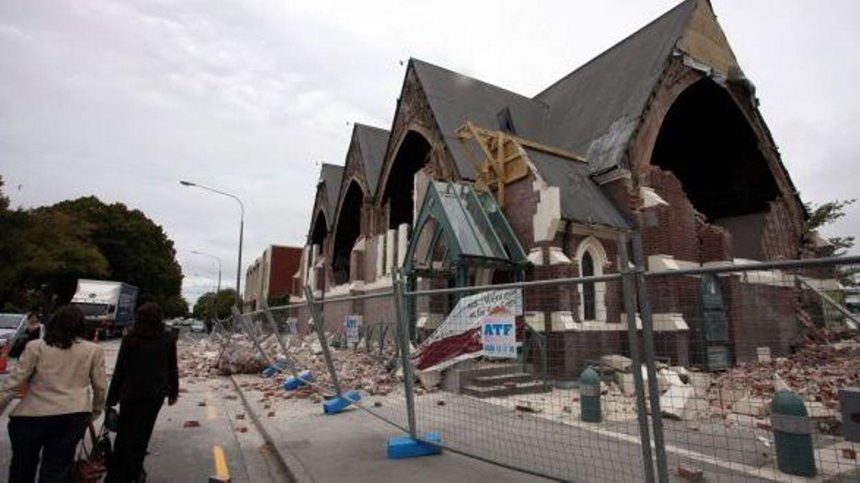 Christchurch Video Detail: Tremblement De Terre En Nouvelle-Zélande, Au Moins 65