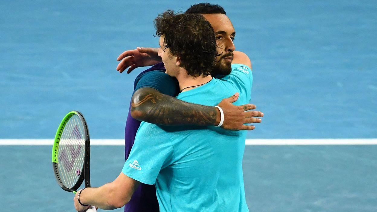 Sport Open d'Australie : Kyrgios qualifié après avoir sauvé deux balles de match contre Humbert - RTBF