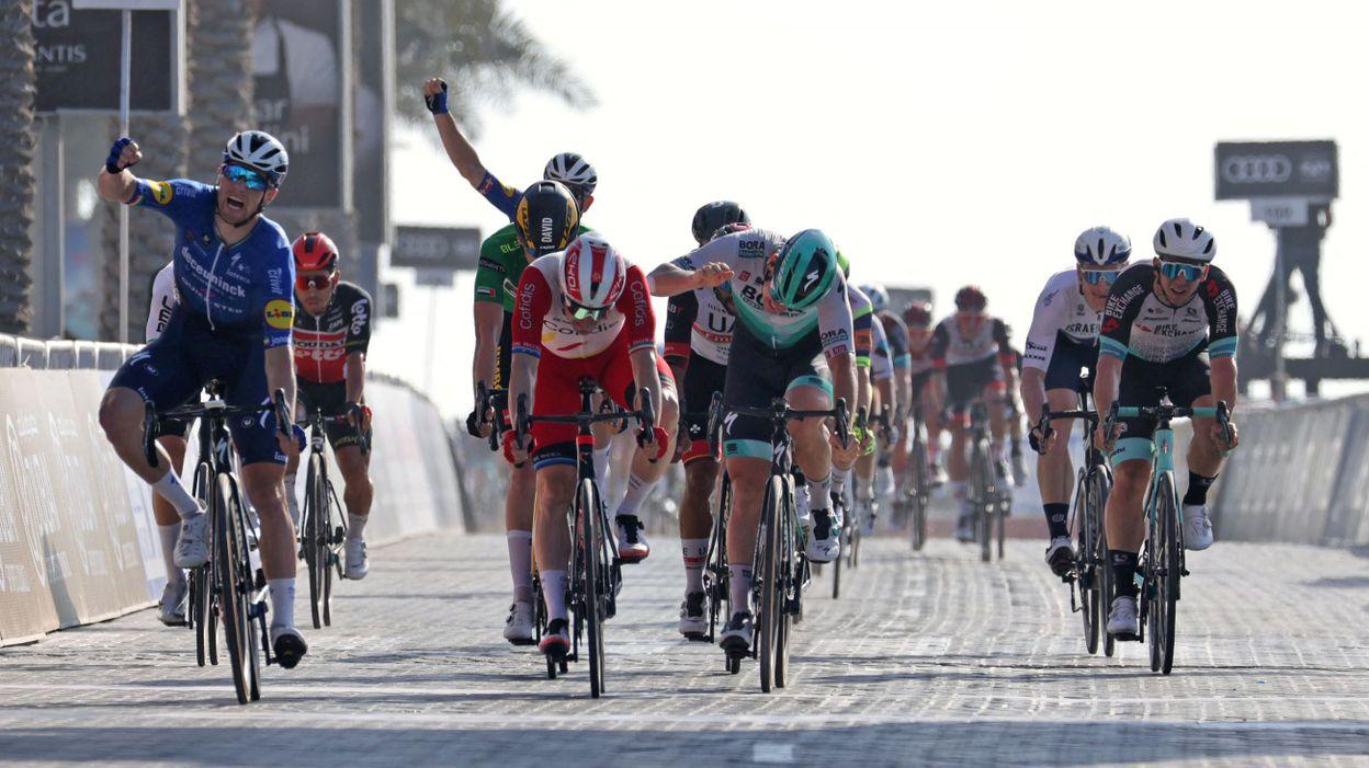 UAE Tour : Sam Bennett double la mise à Palm Jumeirah - RTBF