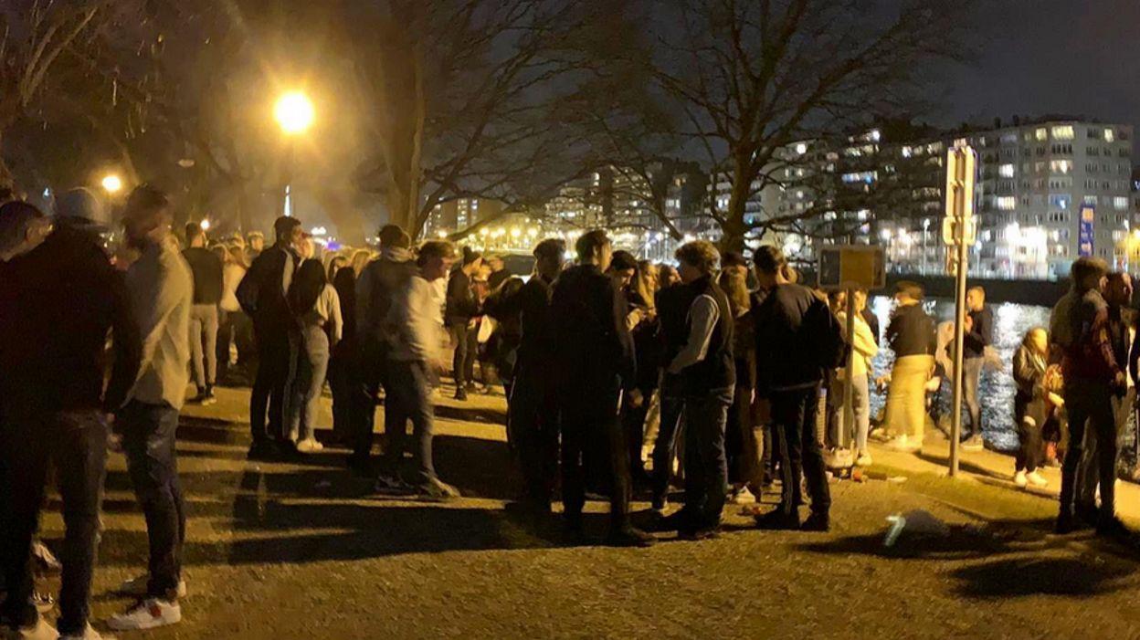 Rassemblements dans les parcs: le bourgmestre de Liège prend des mesures - RTBF