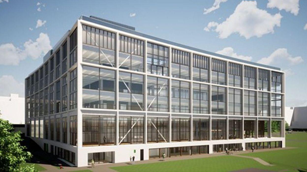 Inauguration des travaux de Mediapark, le nouveau quartier qui accueillera Media Square, le futur bâtiment de la RTBF