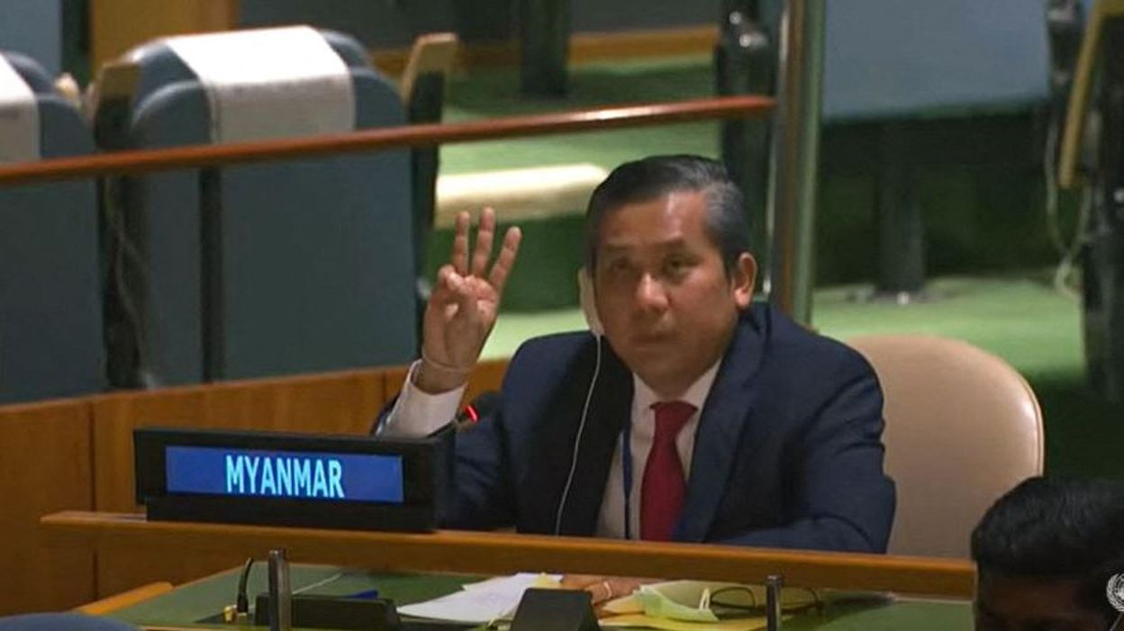 MONDE Coup d'Etat en Birmanie : l'ambassadeur à l'ONU démis de ses fonctions - RTBF
