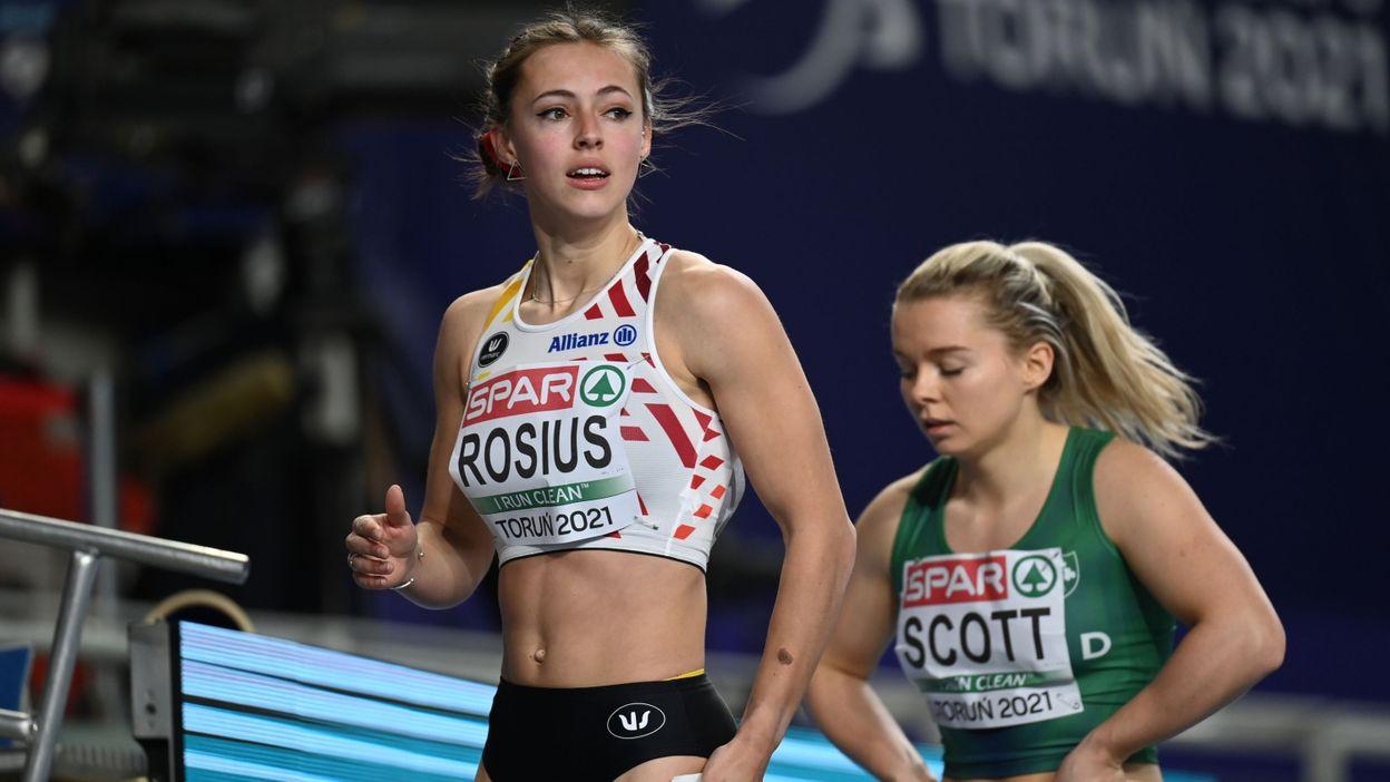 10h47 Euro de Torun : Rani Rosius éliminée en demi-finale du 60 mètres - RTBF