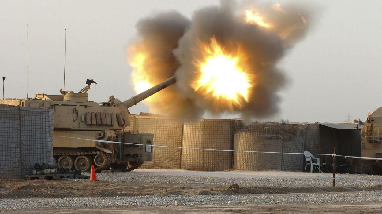 08h41 Irak : une base militaire abritant des soldats américains touchée par 10 roquettes - RTBF