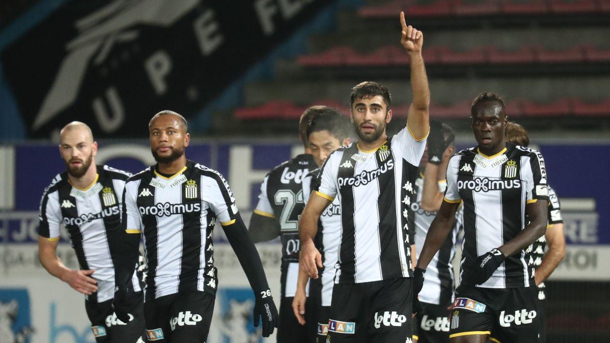 Nouveau doublé du serial buteur Kaveh Rezaei et 2e place provisoire pour Charleroi