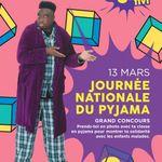 Journée Nationale du Pyjama: participe au concours avec ta classe!