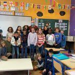 Notre classe niouzz de Liège Naniot