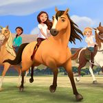 CmoiKi...reçois une poupée et un cheval de la série Spirit !