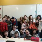 Notre classe niouzz de Faulx-les-Tombes