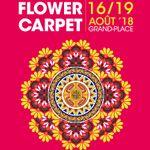 Cmoiki... participe à la création d'un tapis de fleurs lors du Brussels Flower Carpet 2018