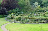 le jardin de forme elliptique