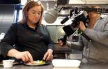 """Stéphanie Thunus, cheffe étoilée du restaurant """"Au gré du vent"""""""