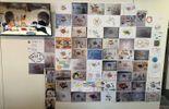 Le magnifique mur de notre bureau!