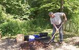 Luc prépare le substrat
