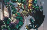 """Dans """"Amère Pizza"""", les tortues Ninja font équipe avec Batman"""