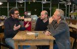 David Foenkinos, Yoann Blanc et Thierry Bellefroid