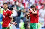 La déception du Maroc, éliminé du Mondial.