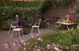 Une des terrasses accueillantes