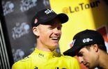 Chris Froome est toujours en jaune