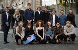 Les dix-huit candidats réunis avant les épreuves de demi-finale