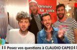 [REVOIR] Claudio Capéo déchaîné et hilarant en Connect Room