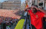 Retour des Diables Rouges en Belgique : l'accueil triomphal des supporters !
