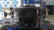 Un capteur LiDAR qui équipe une voiture autonome - China Hi-Tech Fair 2019