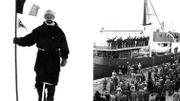 L'expédition de son grand-père, Adrien, e, Antarctique, eut lieu entre 1897 et 1899