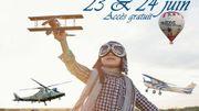 Aviation Days ces 23 et 24 juin à la base Aérienne de Florennes et à l'aérodrome de Cerfontaine.