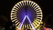 La grand roue à la foire de Liège