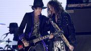 Aerosmith avec Harley Davidson