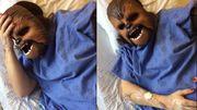Elle accouche avec le masque de Chewbacca: drôle, étrange et douloureux