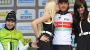 Le geste de Peter Sagan sur le podium du Tour des Flandres