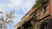 Un bâtiment inoccupé à La Louvière