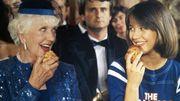 """Poupette (Denise Grey) et Vic (Sophie Marceau) dans """"La Boum"""" (1980)"""