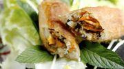 Recette : nems de moules de Bouchot sauce aigre-douce