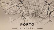 Notre superbe carte de Porto