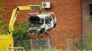 Les auteurs des faits ont mis le feu à leur véhicule.