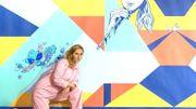 Amandine Lesay, la talentueuse street artiste et peintre qui monte