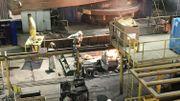980 personnes, dont 90% sous CDI, travaillent sur le site carolo d'Industeel