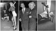 Marilyn Monroe et le sport: shootings, jogging et histoire d'amour avec une star du baseball