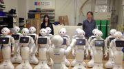 L'ode à la joie chantée par une chorale de robots, un air de mauvais film de science-fiction
