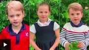 Le prince Louis se joint à George et Charlotte pour interroger Sir David Attenborough sur l'écologie