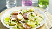 Laurent Mariotte et sa salade de pommes de terre à la Lyonnaise