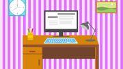Vous avez du mal à vous concentrer au travail ? C'est peut-être la faute de votre bureau !